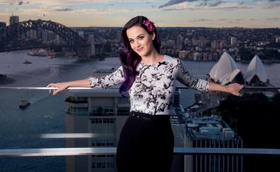 Colored hair smile katy perry