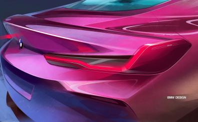 Taillight bmw concept 8 series 2018