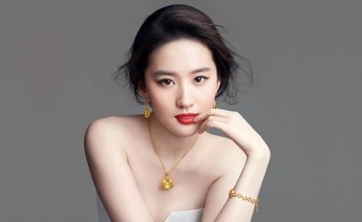 Famous, celebrity, Liu Yifei, 2018