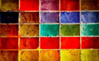 Painting color powder colorful