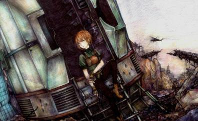 Steins gate anime art