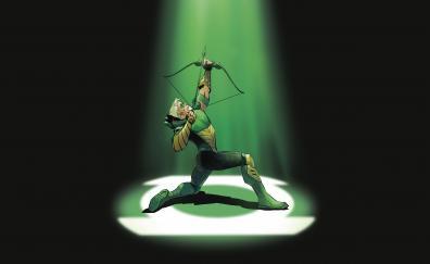 Green arrow archer dc comics