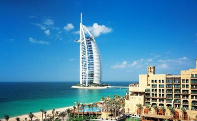Hotel burj al arab coast