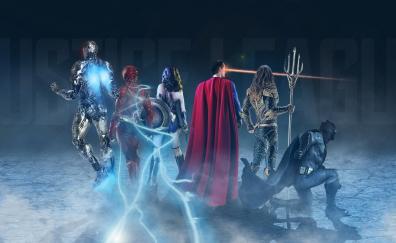 Justice league superheroes artwork 4k 8k