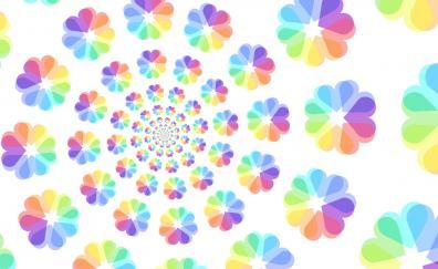 Floral pattern digital art