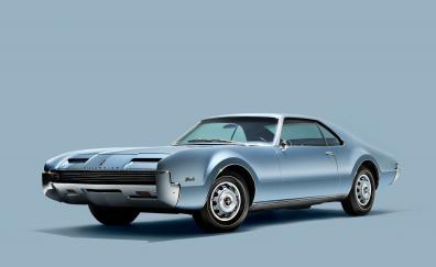 1966 Oldsmobile Toronado, muscle car, front