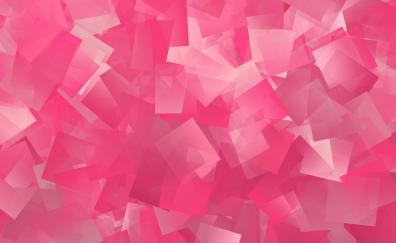 Abstract pink squares pattern
