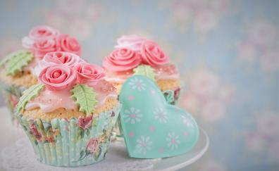 Cupcake dessert baking