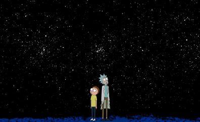 Rick and morty minimal night