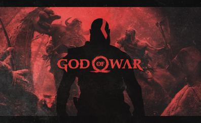 God of war, ps4, video game, 2018