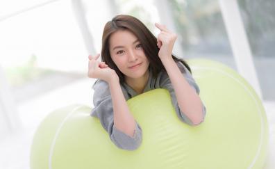 Smile beautiful asian woman