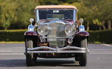 1934 duesenberg model sj front