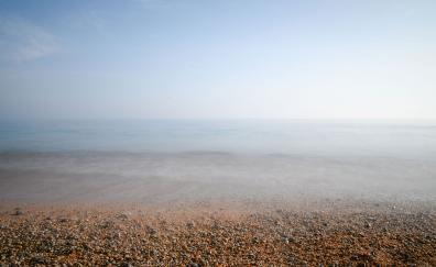 Sea beach mist fog 5k