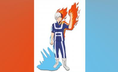 Anime boy minimal shoto todoroki