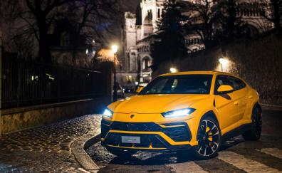 Lamborghini urus luxury suv 4k 2018