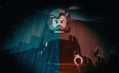 Lego, Luke Skywalker, video game, star wars