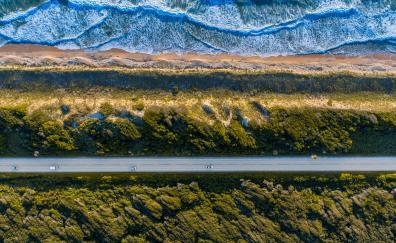 Landscape aerial view 4k