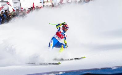 Ski race sports snow