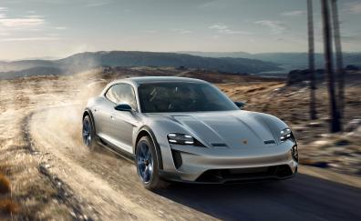 Porsche mission e cross turismo geneva 2018 4k
