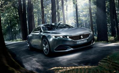 Peugeot exalt concept 4k
