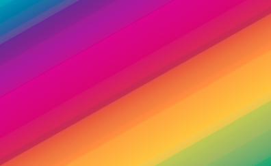 Colorful stripes diagonal