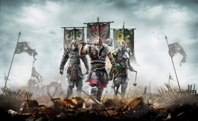 For honor video game warriors