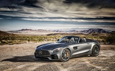 Mercedes amg gt luxury car