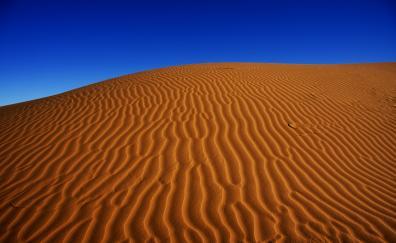 Desert sand dunes 4k