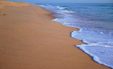 Sand beach foam