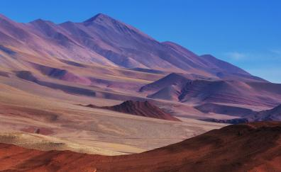 Desert northern argentina landscape