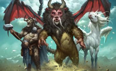 Warriors creature fantasy