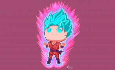 Goku dragon ball super anime artwork