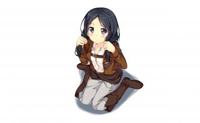Attack on titan anime girl cute