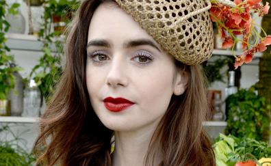 2018 lily collins photoshoot cartier