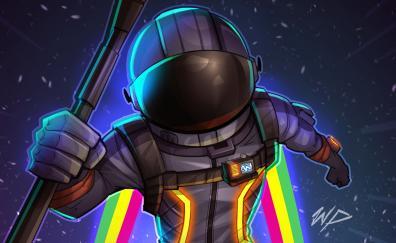 Fortnite, dark voyager, helmet, game