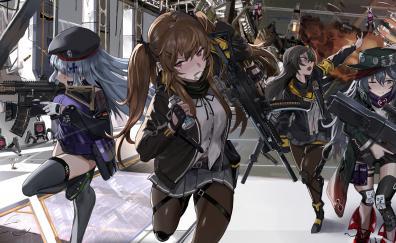 Girls' Frontline, soldiers' gang