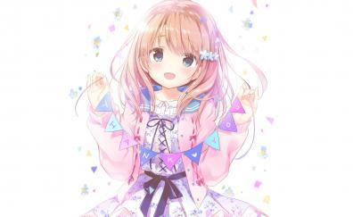 Thank you anime girl cute