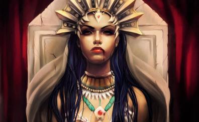 Vampire queen fantasy woman