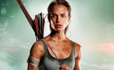 Tomb raider, 2018 movie, Alicia Vikander, Lara croft