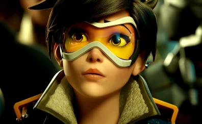 Beautiful tracer overwatch curious