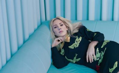 Blonde, singer, Ellie Goulding