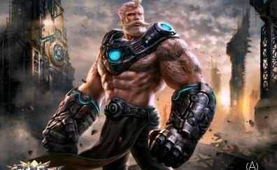 Soul of eden artwork warrior