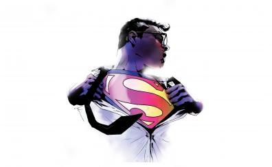 Superman action comics artwork