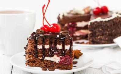 Cake slice dessert