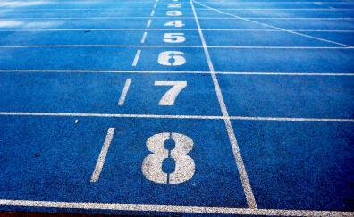 Running track numbers typos