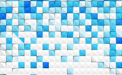 Texture blue white squares abstract