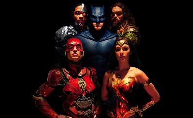 Justice league team movie 2017 8k