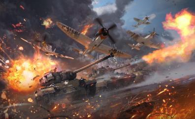 War thunder video game military