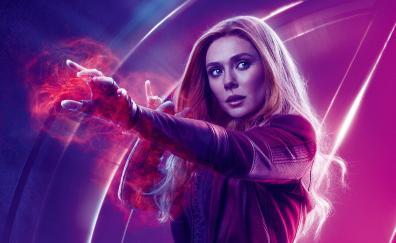 Avengers infinity war elizabeth olsen wanda maximoff movie