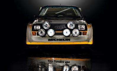 Audi sport quattro s1 rally front